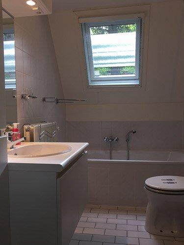 badkamer, met bad